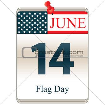Calendar of Flag Day