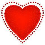 Valentine red frame