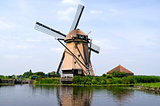 Rietveldse mill in Hazerswoude-Dorp, The Netherlands.
