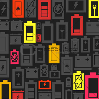 Battery a background