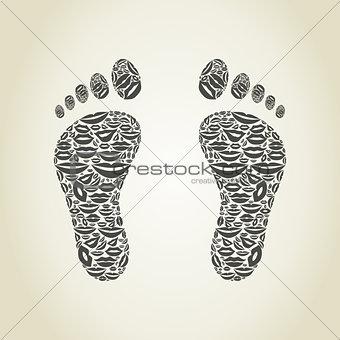 Foot a lip