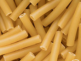 macaroni pasta tubes food background