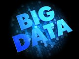 Big Data on Digital Background.