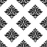 Diamond shaped seamless arabesque pattern