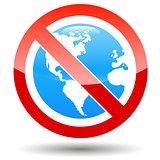 No earth icon