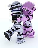 Robots ballroom dancing