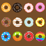 Donuts Collection Set