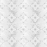 Seamless grungy floral pattern