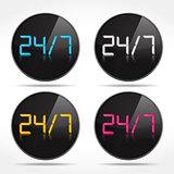 24/7 Icons
