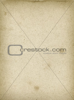 Old used paper texture