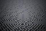 Difficult maze puzzle