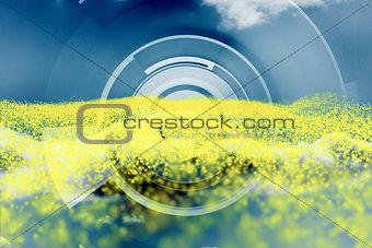 Abstract dial design