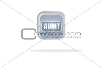 Audit banner on abstract screen