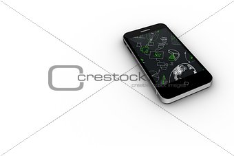 Brainstorm on smartphone screen