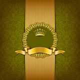 Luxury background with ornament, frame