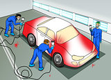 Automobile Paint Shop