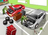 Automobile Repair Shop