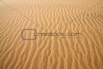 Gold desert. Sand texture.