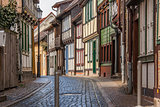 Street in the old center of Wernigerode