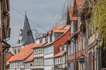 Houses in the old center of Wernigerode