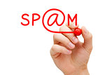 Spam Red Marker
