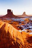 The Mittens, Monument Valley National Park, Utah-Arizona, USA