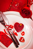 Romantic tableware