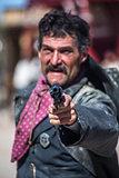 Sheriff Points Gun