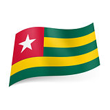 State flag of Togo