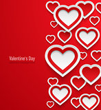 Valentines day abstract background.