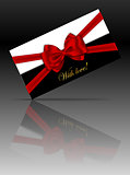 Luxury gift card