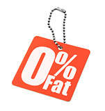 Zero percent fat tag