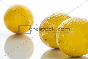 Three yellow limes