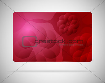 Abstract card background