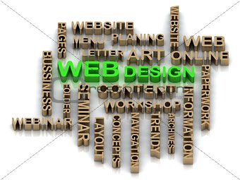 Green WEBdesign and other word