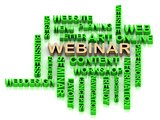 Green WEBINAR and other word from