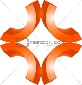 3d sign or symbol graphic design