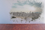 Splash showing cityscape