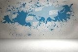 Splash showing global commuication