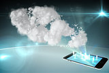 Cloud computing with smartphone