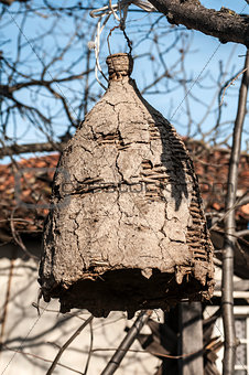 Old beehive for wild bees