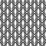 Design seamless monochrome diamond pattern. Abstract geometric t