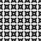 Design seamless monochrome abstract cross pattern