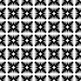Design seamless monochrome abstract cross pattern