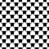 Design seamless monochrome diagonal pattern. Abstract lattice ba