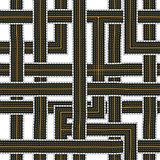 Seamless road pattern