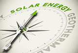 Green Energies Choice - Solar Energy Concept
