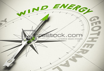 Green Energies Choice - Wind Energy Concept
