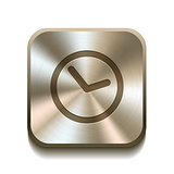 Clock icon button