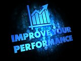 Improve Your Performance Concept.